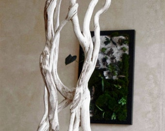 Ivy, ivy sculpture sculpture, wood carving, wood carving, sculpture branch, sculpture branch, plant design, green
