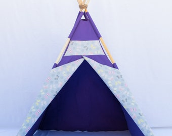 HIgh Quality Butterfly Purple Teepee