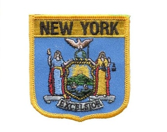 Seal of New York Patch - Excelsion