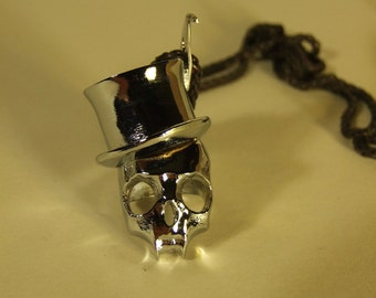 Pendant magician card pendant ring - skull - top hat - map - As - pendant