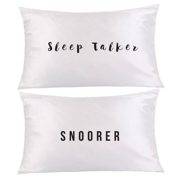 sleep talker snoorer pillows