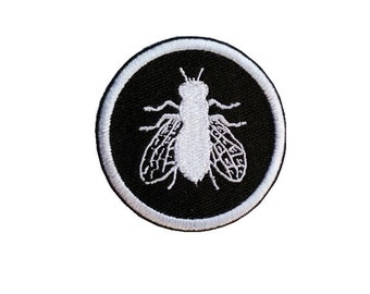 housefly patch insect patch embroidered patch iron on patches iron on patch sew on patch
