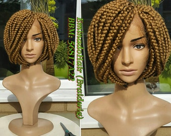 Braided Wig, BOB braids.colour 27. Braidwig, Braidswig