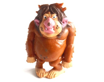 Troll, Vintage BRB Troll, 1980s, David the Gnome, figurine. (Goblin, Gremlin, Hob, Imp, Gnome, Hobgoblin, Elf, Pixy). #644G5DK1D