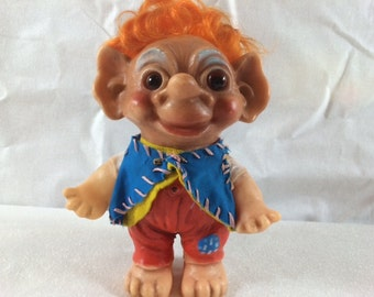 1960's Danish Troll 8 inch Boy - Rare