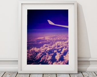 Come fly with me | Sky | Plane | Travel photo art print | Melbourne photographer