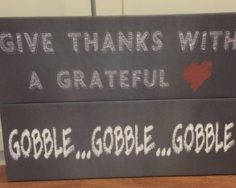 Thanksgiving Holiday Signs