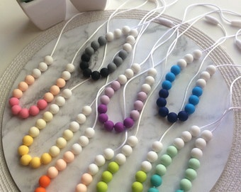 Arlia Silicone Necklace - 8 colours to choose from