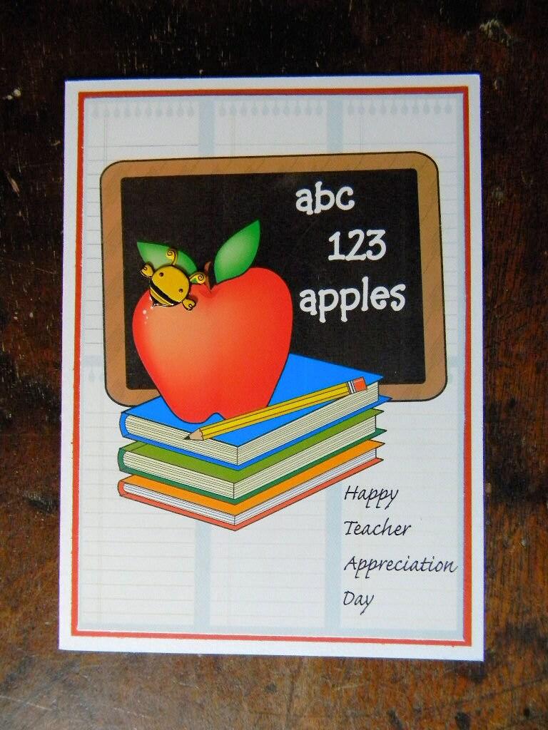 on sale happy teacher appreciation day greeting card happy