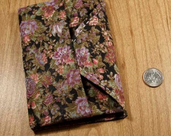 Small Origami Upcycled Cloth Notebook
