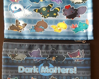 Pokemon Cosmetic Bag - Dark Type