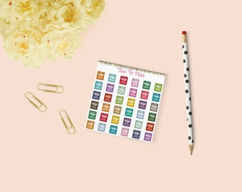 Dishwasher Planner Stickers: Mini Size! Perfect for the Erin Condren Life Planner!