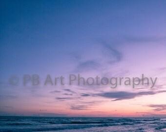 Sunset Over Destin Art Print