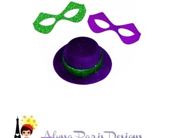Riddler Accessories Hat and Mask - DC Comics Villan Inspired Girls Costume