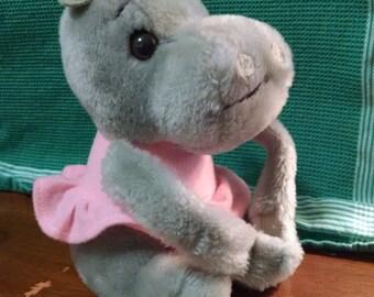 Dakin Plush Hippo