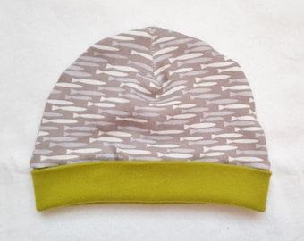 Newborn Hat (Organic Cotton)