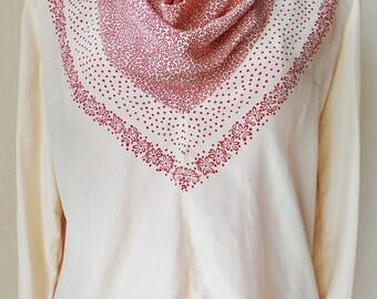 Lanvin vintage silk blouse size 44 - Size XL