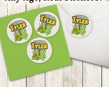 Trash Pack Birthday, Trash Pack Party, Trash Pack Stickers, Trash Stickers, Trash Birthday Stickers, Matte, Custom