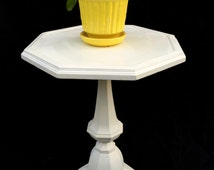 Vintage Yellow Bamboo Pot & Saucer by McCoy Style 0372 // Mid Century Chinoiserie Hollywood Regency Home Decor // Boho Chic Planter
