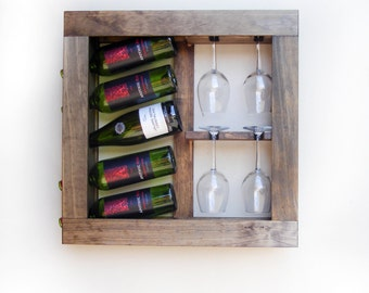 Wine Rack, Wine Rack Wall Mounted