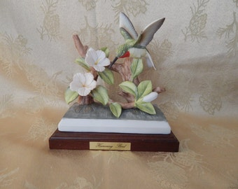 Vintage Masterpiece China Humming Bird Collection 1980's