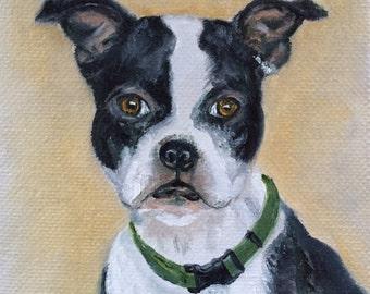 The Boxer Original Oil Painting