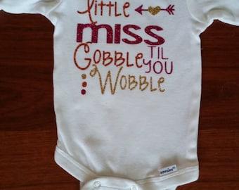 Little Miss Gobble Til You Wobble