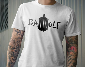 Dr Who Inspired Tshirt Bad Wolf