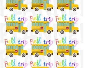 Field Trip Stickers D025