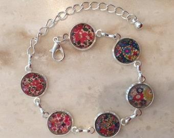 Delicate bracelet Liberty Flower