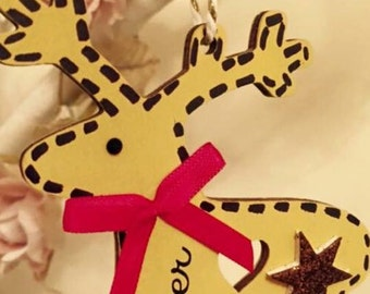 Christmas reindeer decoation