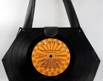 "Vinyl Record Handbag -- ""Chelsea Style"""