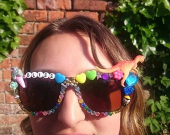 unique festival sunglasses