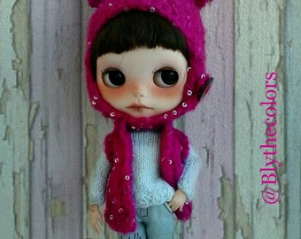 Blythe hat and vest set