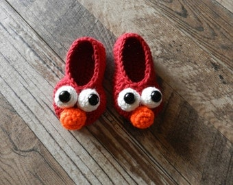 Elmo Slippers Toddler Size 5