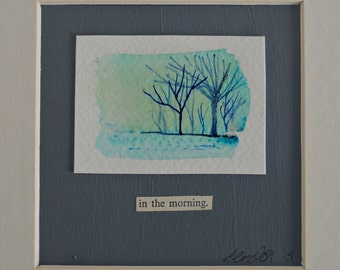 Landscape Painting 'In the Morning'