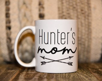 PERSONALIZED MOM ARROWS Coffee Mug
