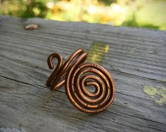 Adjustable Copper Ring