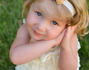 Flower Headband, Girls Headband, Baby Headband, Girls Bow, Baby Bow, Flower Bow, Baby Girl, Girls, Bows, Headbands, Flower Bow, Pink, Yellow
