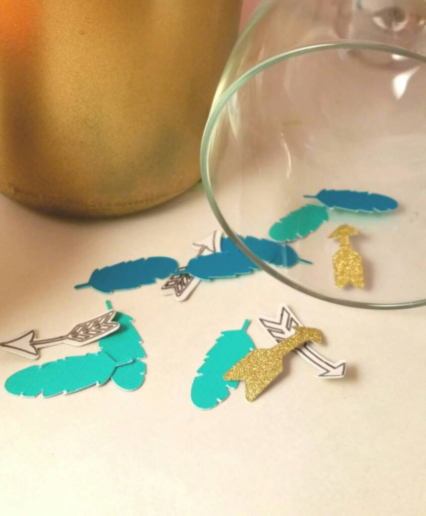 Turquoise Baby Shower Decorations Teal Baby Shower Etsy