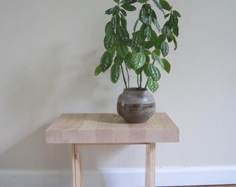 Camel plant stand