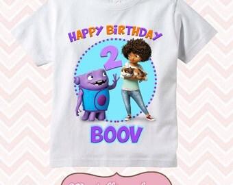 Home - Boov -Happy Birthday Shirt