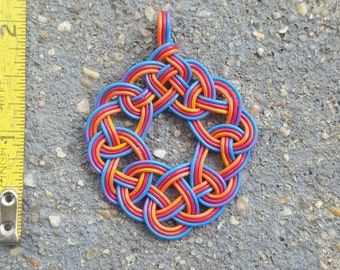 Recycled Telephone Wire Pendant