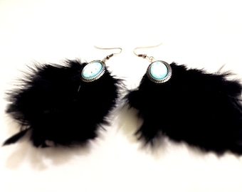 Earring ( feather )
