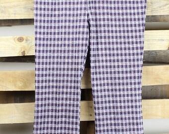 Plaid Check Pants