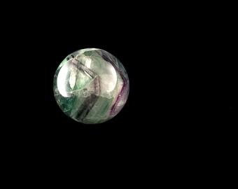 "Fluorite Sphere 3.7 oz. 1 3/8"" Diameter A663"