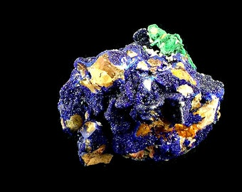 "Azurite Malachite Crystal Cluster 2"" 2.5 oz. A509"