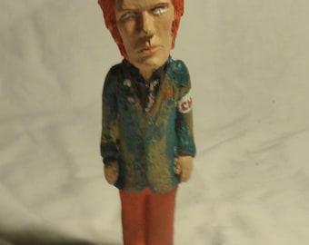 Johnny Rotten sculpture