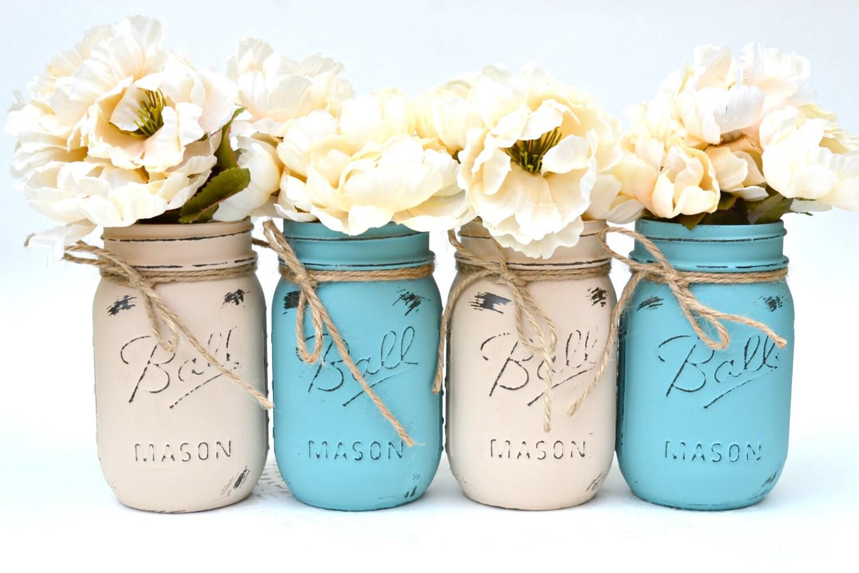 mason jars bulk painted mason jars dorm decor chic. Black Bedroom Furniture Sets. Home Design Ideas