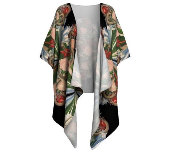 Lush Floral Kimono Blouse 4